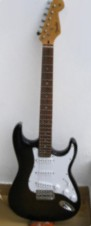 2005 Black Burst Custom Stratocaster
