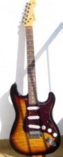 Stratocaster Flamed Top