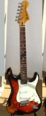 Stratocaster Custom Shop 1976 Relic